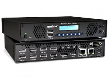 Matrox Maevex 6150 Quad 4K Encoder Appliance