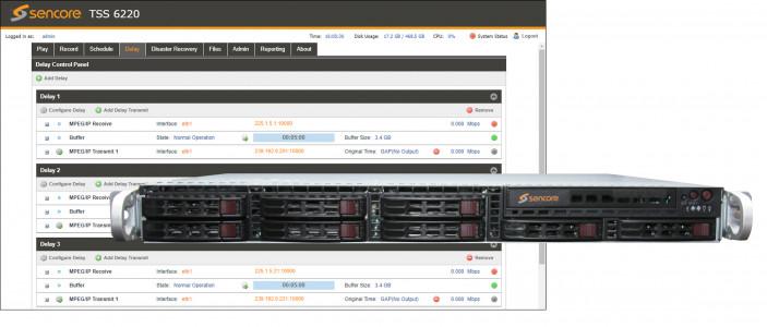Transport Stream Server TSS 6220