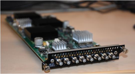 Appear TV X Platform UHD SDI Encoder Module